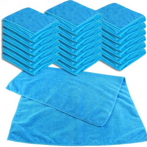 Mikrofaser UNIVERSALTUCH XL 20er Set - 50 x 70 cm - blau