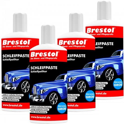 SCHLEIFPASTE 4x 500 ml - Auto-Polierpaste