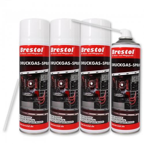 Druckgas-Spray 4x 500 ml