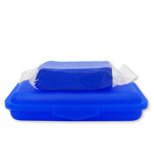 REINIGUNGSKNETE blau - mittelstark 200g inkl. Dose - Clay Bar Polierknete Lackknete