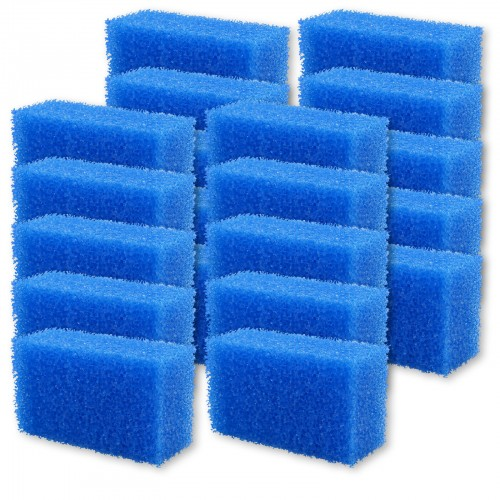 INSEKTENSCHWAMM blau grobporig 20er Set