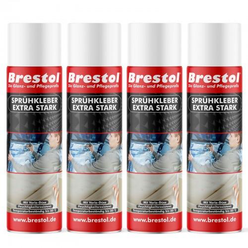 SPRÜHKLEBER Spray 4x 500 ml