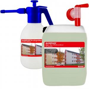 2,5L ALGEFLEX® verarbeitungsfertig inkl. 1,8 Liter Drucksprüher und Auslaufhahn