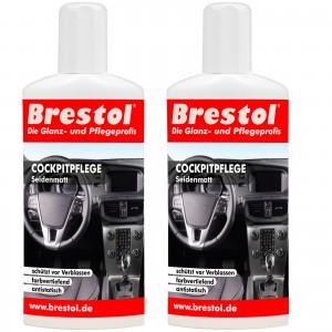 COCKPITPFLEGE SEIDENMATT 2x 250 ml - Kunststoffpfleger
