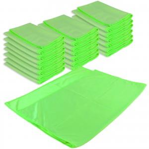 GLAS- & SPIEGELTUCH PROFI XL 20er Set - 50 x 70 cm - grün