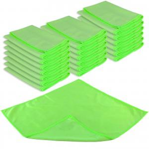 GLAS- & SPIEGELTUCH PROFI 20er Set - 40 x 40 cm - grün