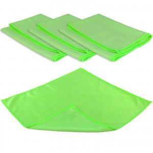 GLAS- & SPIEGELTUCH PROFI 4er Set - 40 x 40 cm - grün