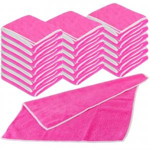 Mikrofaser UNIVERSALTUCH 20er Set 40 x 40 cm - pink