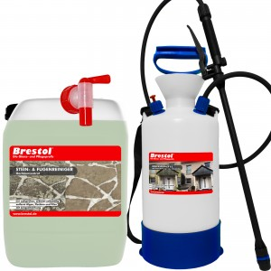 STEIN- & FUGENREINIGER 10 Liter + 6 Liter Drucksprüher
