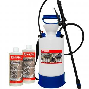 STEIN- & FUGENREINIGER 2x 1000 ml + 6 Liter Drucksprüher