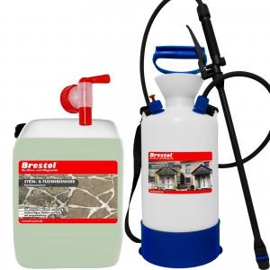 STEIN- & FUGENREINIGER 5 Liter + 6 Liter Drucksprüher
