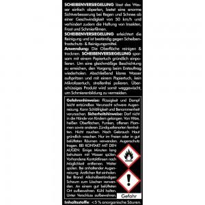 ANTIBESCHLAG + SCHEIBENVERSIEGELUNG SET1