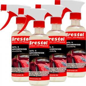 TEXTIL- & TEPPICHREINIGER gebrauchsfertig 4x 300 ml