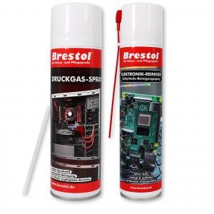 Elektronik-Reiniger 400 ml + Druckgas-Spray 500 ml