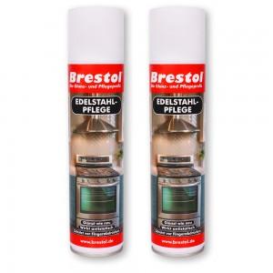 Edelstahlpflege Spray 2x 400 ml