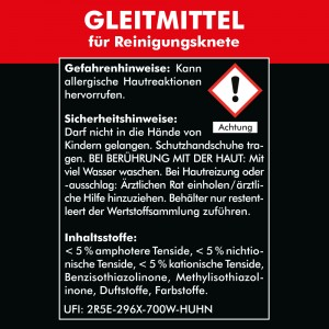 GLEITMITTEL für Reinigungsknete 2x 750 ml - Clay Bar Polierknete Lackknete