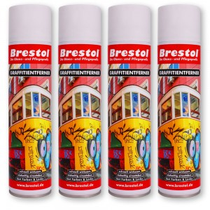 GRAFFITIENTFERNER Spray 4x 400 ml