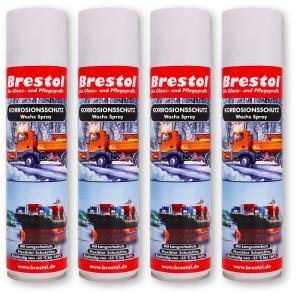 KORROSIONSSCHUTZ 4x 400 ml - Wachs Spray