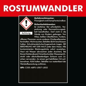 ROSTUMWANDLER 1000 ml - Rostconverter