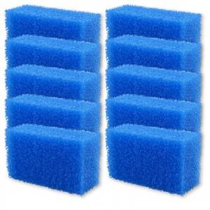 INSEKTENSCHWAMM blau grobporig 10er Set