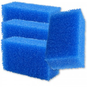 INSEKTENSCHWAMM blau grobporig 4er Set