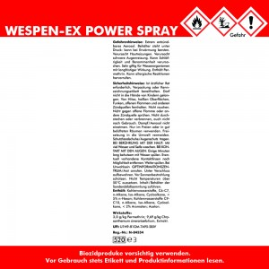 WESPEN-EX PowerSpray 4x 400 ml